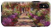 A Pathway In Monets Garden Giverny IPhone X Tough Case