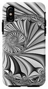 Abstract 527 Bw IPhone X Tough Case