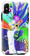 Abstract Flowers IPhone X Tough Case