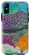Abstract Garden Of Thoughts IPhone X Tough Case