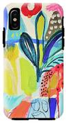 Abstract Jungle And Wild Flowers IPhone X Tough Case