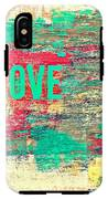 Abstract Love V2 IPhone X Tough Case