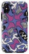 Abstract Pattern IPhone X Tough Case