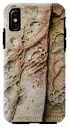 Abstract Rock Stained With Red And Gold IPhone X Tough Case