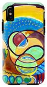 Abstract Space IPhone X Tough Case