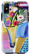 Abstract Still Life With Flowers IPhone X Tough Case