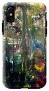 Abstract - The Man Buried In Moon River IPhone X Tough Case
