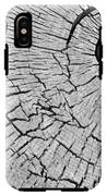 Abstract Tree Cut IPhone X Tough Case