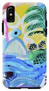 Abstract Tropical Landscape IPhone X Tough Case