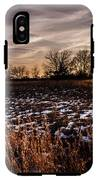 Across The Frozen Fields  IPhone X Tough Case