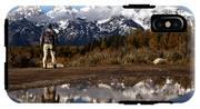 Admiring The Teton Sights IPhone X Tough Case