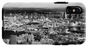 Aerial View Of London 6 IPhone X Tough Case