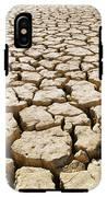 Africa Cracked Mud IPhone X Tough Case