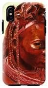 African Beauty IPhone X Tough Case
