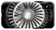 Aircraft Turbofan Engine IPhone X Tough Case
