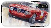 Alfa Romeo Giulie Sprint Gt 1966 IPhone X Tough Case