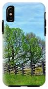 All Fenced In Along The Blue Ridge Parkway IPhone X Tough Case