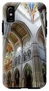 Almudena Cathedral Interior In Madrid IPhone X Tough Case