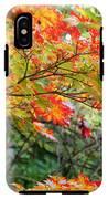 Arboretum Autumn Leaves IPhone X Tough Case