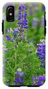 Arctic Lupine Lupinus Ancticus IPhone X Tough Case