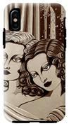 Arielle And Gabrielle In Sepia Tone IPhone X Tough Case