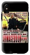 Armageddon Blvd.  IPhone X Tough Case