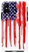 American Spatter Flag IPhone X Tough Case
