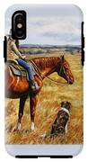 Horse Painting - Waiting For Dad IPhone X / XS Tough Case