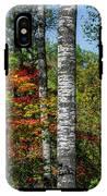 Aspens In Fall Forest IPhone X Tough Case