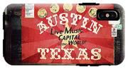 Austin Live Music IPhone X Tough Case
