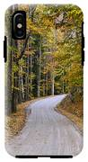 Autumn Country Road IPhone X Tough Case