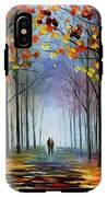 Autumn Fog IPhone X Tough Case