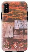 Autumn In High Bridge IPhone X Tough Case