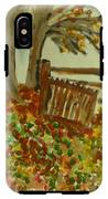Autumn IPhone X Tough Case