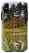 Autumn Pond IPhone X Tough Case