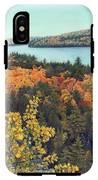 Autumn Rocks Booth's Rock Lookout IPhone X Tough Case