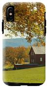 Autumn Shenandoah Barn IPhone X Tough Case