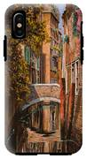 autunno a Venezia IPhone X Tough Case