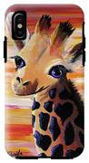Baby Giraffe IPhone X Tough Case