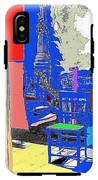Backdrop  Traveling Tintype Photographer John A. Coffer  Tombstone Arizona 1980-2009 IPhone X Tough Case