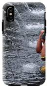 Bali Temple Fountain Cleansing IPhone X Tough Case