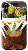 Balinese Traditional Dinner Basket IPhone X Tough Case