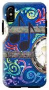 Banjos - Bordered IPhone X Tough Case