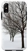 Bare Winter Trees IPhone X Tough Case