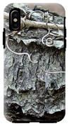 Bark - Lichen - Cat Brier Tendrils IPhone X Tough Case