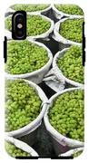 Baskets Of White Grapes IPhone X Tough Case