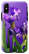 Batik Irises IPhone X Tough Case