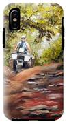 Bear Wallow Rider IPhone X Tough Case