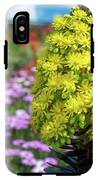 Beautiful Yellow Flowers On A Garden Background IPhone X Tough Case