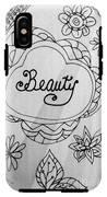 Beauty IPhone X Tough Case